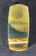 Blue Mountain Jasper cabochon, Oregon, USA.  17.51 carats.